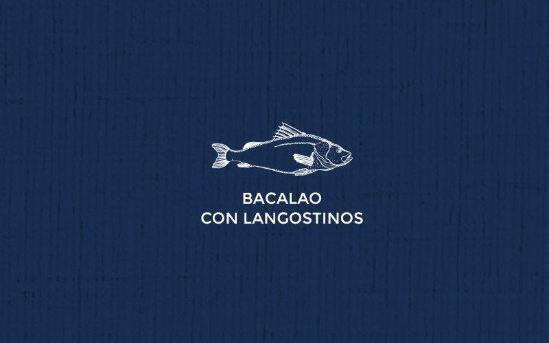 Bacalao con langostinos