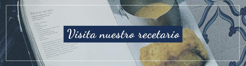 Visita nuestro recetario