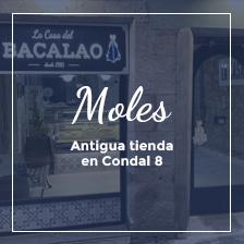 La Casa del Bacalao Moles Barcelona